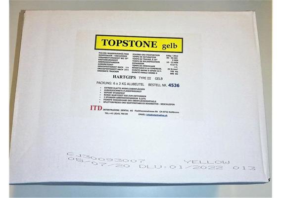 Delta Topstone Typ III gelb 6 x 3 kg