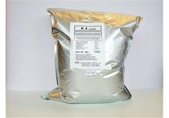 K4 Superhartgips pastell Typ IV 10 kg
