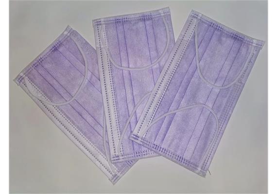 Maske Typ IIR 3-lagig Lavendel