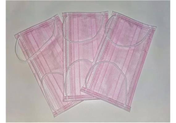 Maske Typ IIR 3-lagig Pink