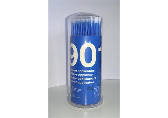 Microbrush Tips regular blau 100 Stück