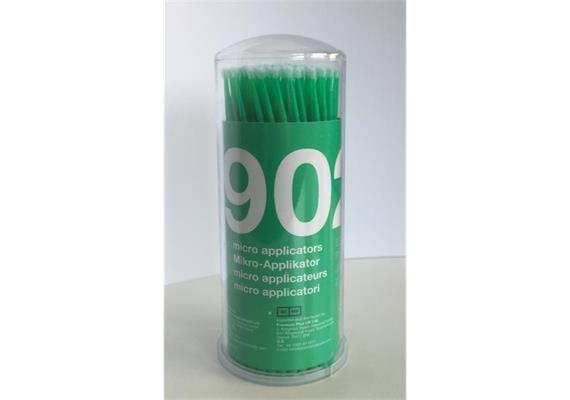 Microbrush Tips regular grün 100 Stück