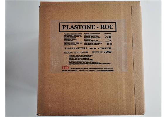 Plastone roc extraweiss Kl 4 20 kg