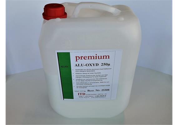 premium ALU-OXYD Edelkorund 250µ 13kg