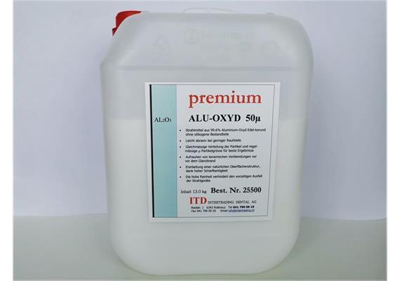 premium ALU-OXYD Edelkorund 50µ 13kg
