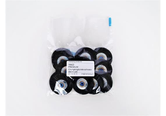 PREMIUM Chungkingbürste schwarz 48mm pSt