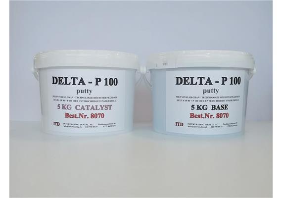 Silikon DELTA P 100 putty  A+B je 5 kg