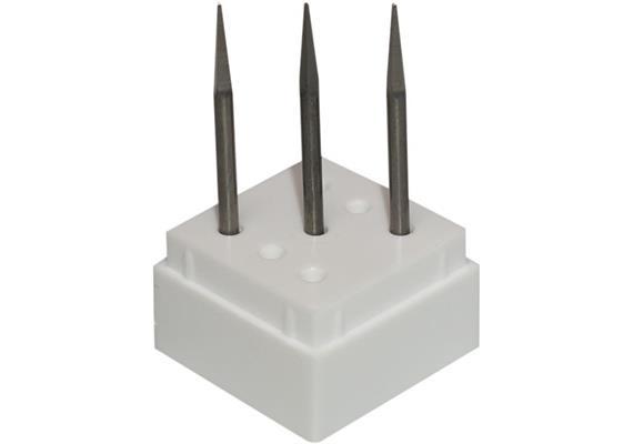 Stichfräser Vierkantform 3 Stk