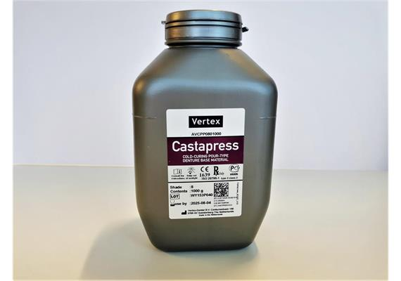 V-Castapress # 8 blue-pink Pulver 1000g